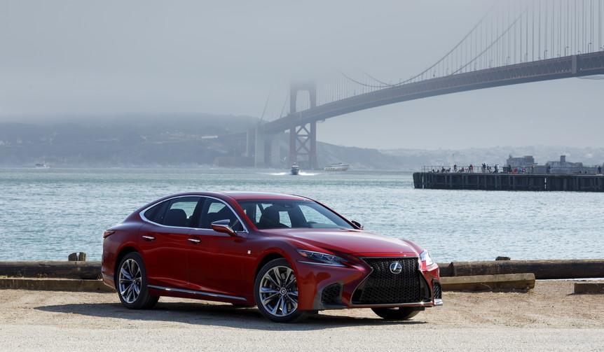 新型レクサスLSを米国で先行試乗|Lexus