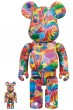 MEDICOM TOY BE@RBRICK DYLAN'S CANDY BAR 100% & 400%