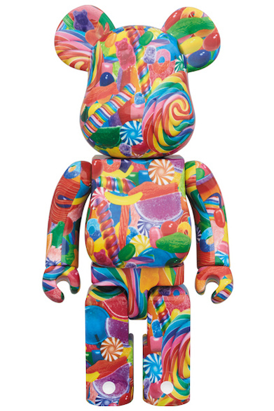 MEDICOM TOY BE@RBRICK DYLAN'S CANDY BAR 400%