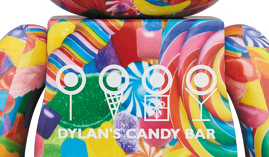 MEDICOM TOY|BE@RBRICK DYLAN'S CANDY BAR 100% & 400% / 1000%
