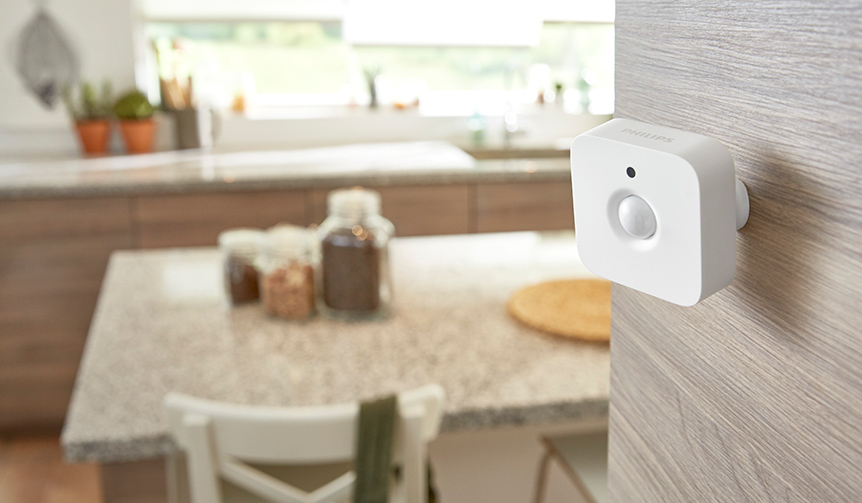 Philips Lighting|次世代スマートLEDランプ専用のモーションセンサ