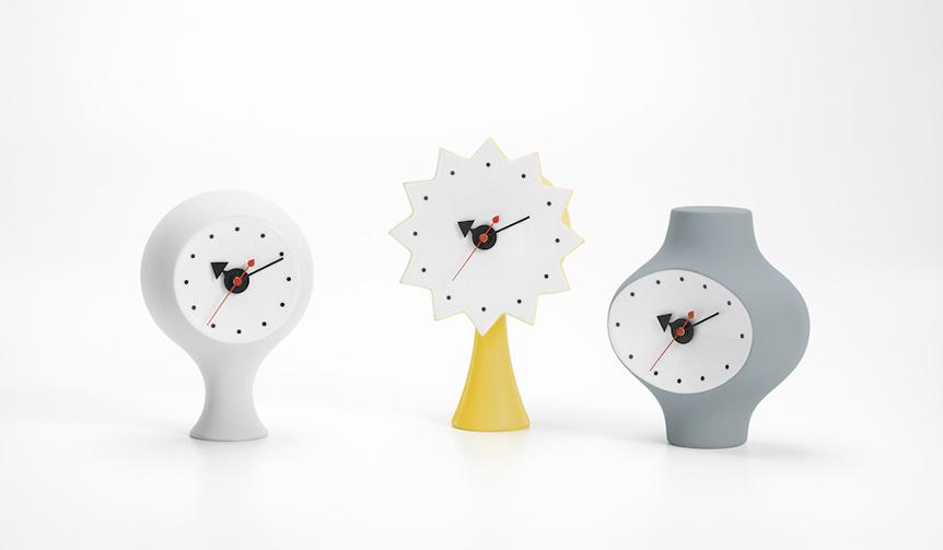 Vitra|ジョージ・ネルソンが1950年代にデザイン。幻の陶器製時計が製品化