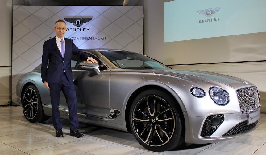 新型ベントレー コンチネンタルGTが日本上陸|Bentley