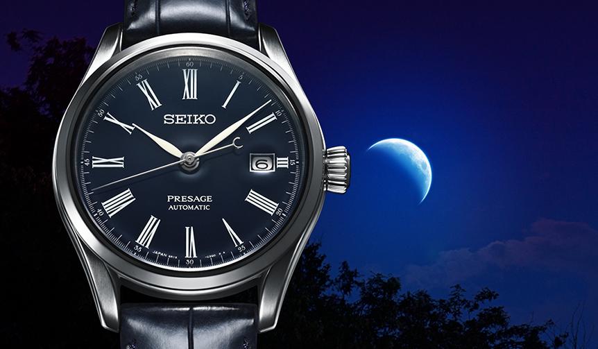 SEIKO 「セイコー プレザージュ」に誕生した、凛とした佇まいの濃紺モデル