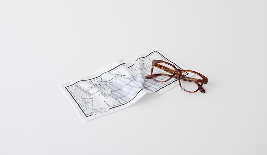 DESIGN|ルーツを下町に持つ両者がコラボレーション。「色眼鏡拭き」が完成