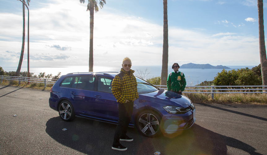 中村獅童がゴルフR ヴァリアントで繰り広げるUnexpectedな旅|Volkswagen