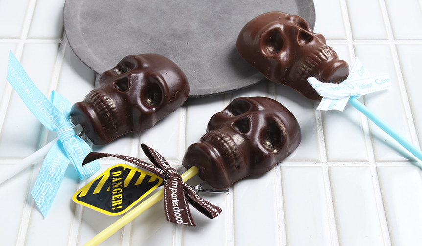 Skull-Stick