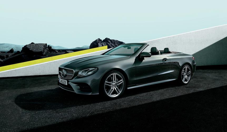 新型Eクラスカブリオレが日本デビュー|Mercedes-Benz