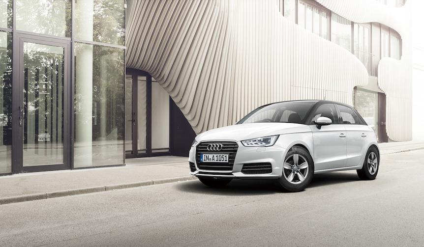 アウディA1にピアノの鍵盤をモチーフにした限定モデル|Audi