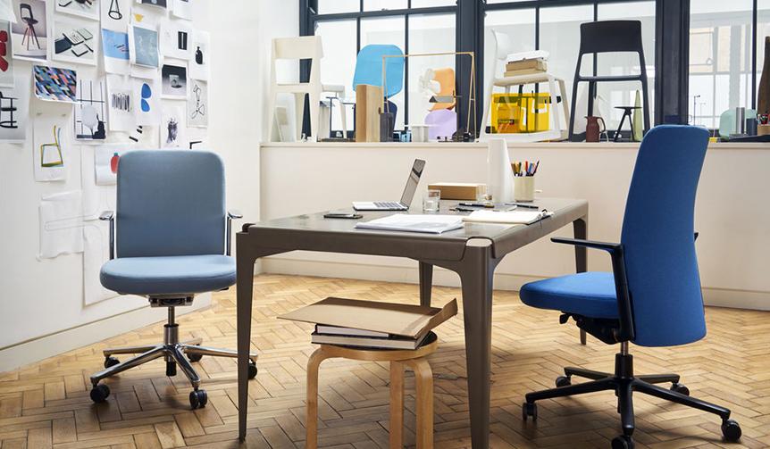 Vitra|オフィス環境の改善が謳われる今日。ワークフローを加速させるオフィスチェアが登場