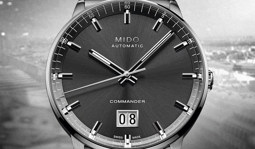 MIDO|ブランド創立100周年を記念する「コマンダー ビッグデイト」
