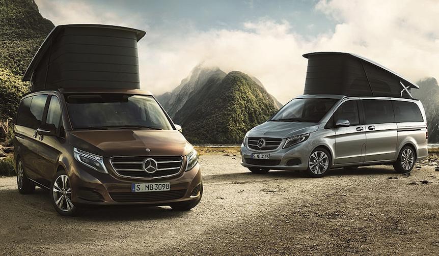 アウトドアを楽しむための新グレード「マルコ ポーロ ホライゾン」|Mercedes-Benz