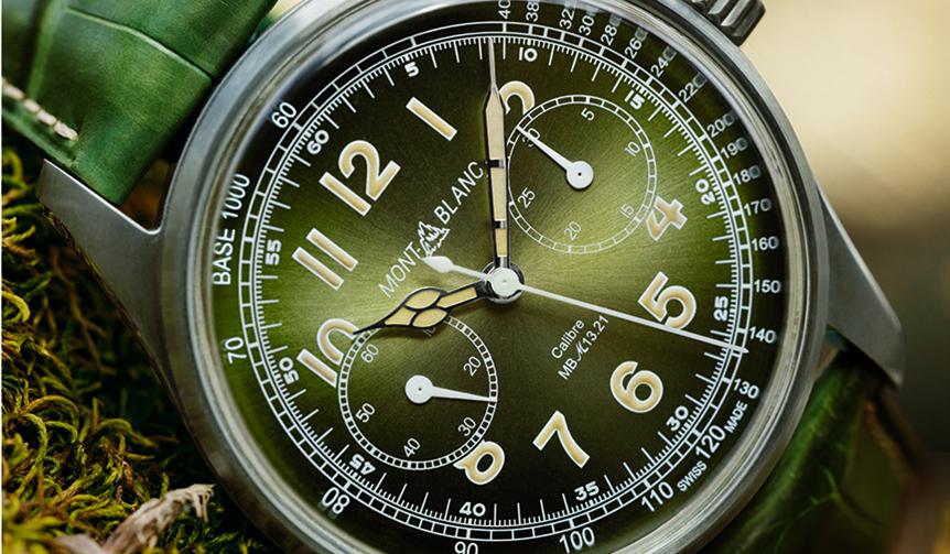 MONTBLANC|SIHH2018にて新作「モンブラン 1858 モノプッシャー クロノグラフ」を発表