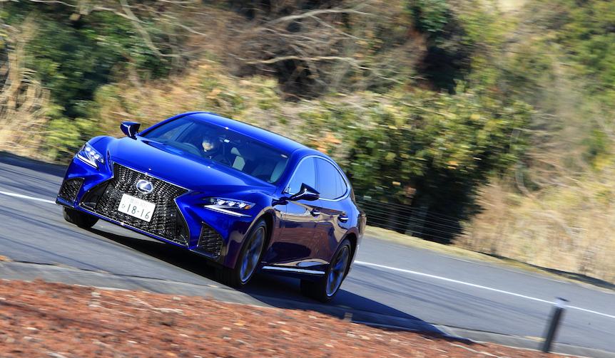 レクサスの新型フラッグシップセダン「LS500」に試乗|Lexus