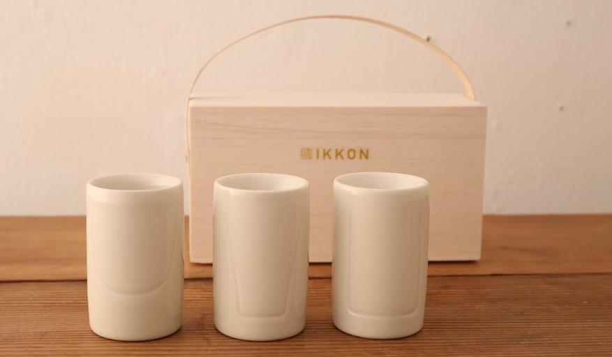 IKKON|カップを替えると不思議! お酒の風味が変化する3種類のぐい飲み
