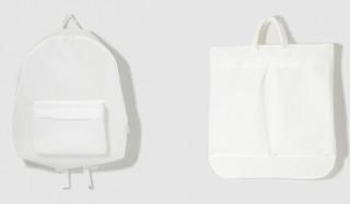 """軽さと耐久性を兼備した規格の不織布を使用。""""誰もが知っている""""バッグ UNNUN"""