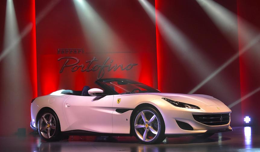 新型フェラーリ「ポルトフィーノ」がジャパンプレミア|Ferrari