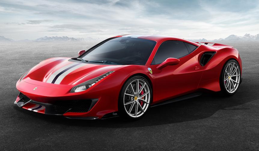 フェラーリが新しいスペシャルシリーズ「488ピスタ」を発表|Ferrari