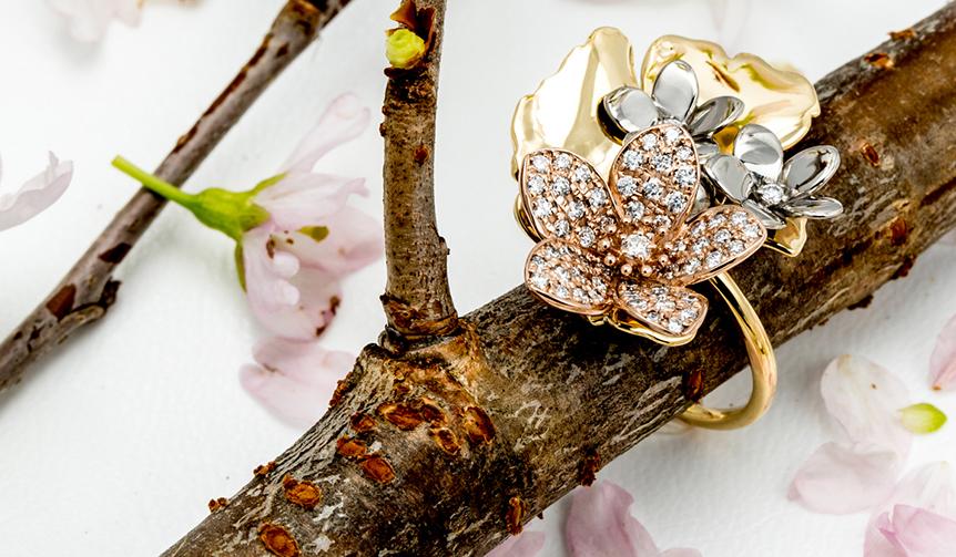 NATUR & NICOLAI BERGMANN|華やかに春を彩る桜がモチーフ。2018 Spring Collection