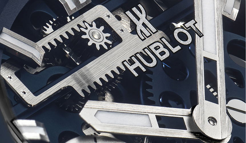 HUBLOT|メカニカルブルーの世界へ。「ビッグ・バン メカ-10 ブルーセラミック」