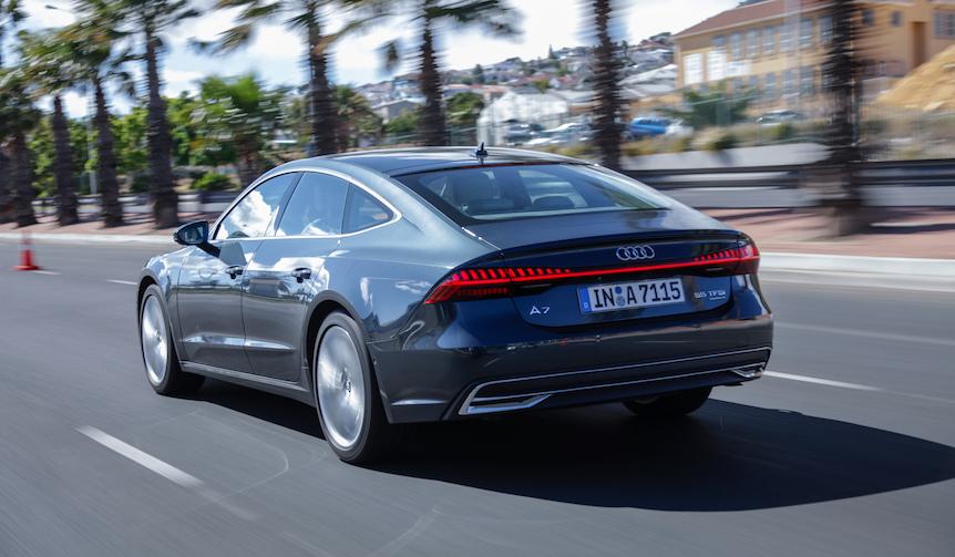 新型アウディ「A7 スポーツバック」に試乗|Audi