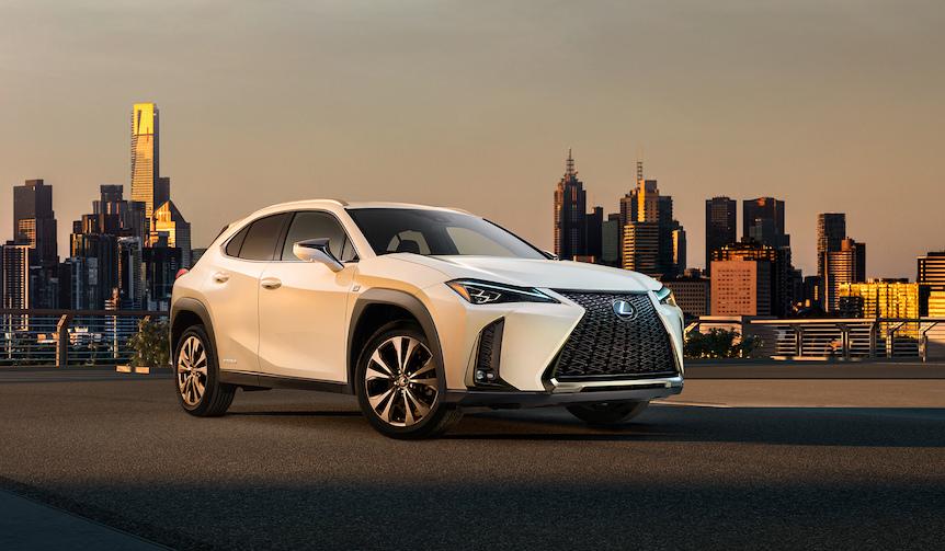 コンパクトクロスオーバー「UX」をジュネーブで世界初披露 Lexus