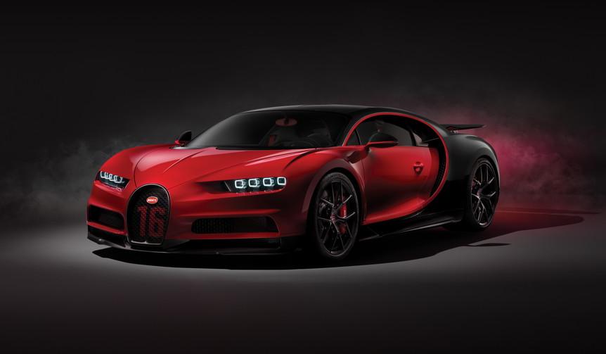 ブガッティ シロンのハイパフォーマンスバージョン発表 bugatti