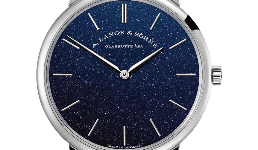 A.LANGE&SÖHNE|青銅色の星々が文字盤にきらめく新作「サクソニア・フラッハ」