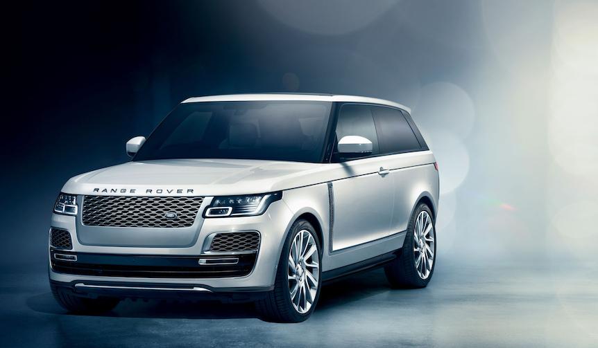 初代をオマージュしたレンジローバー SVクーペがジュネーブで公開|Land Rover