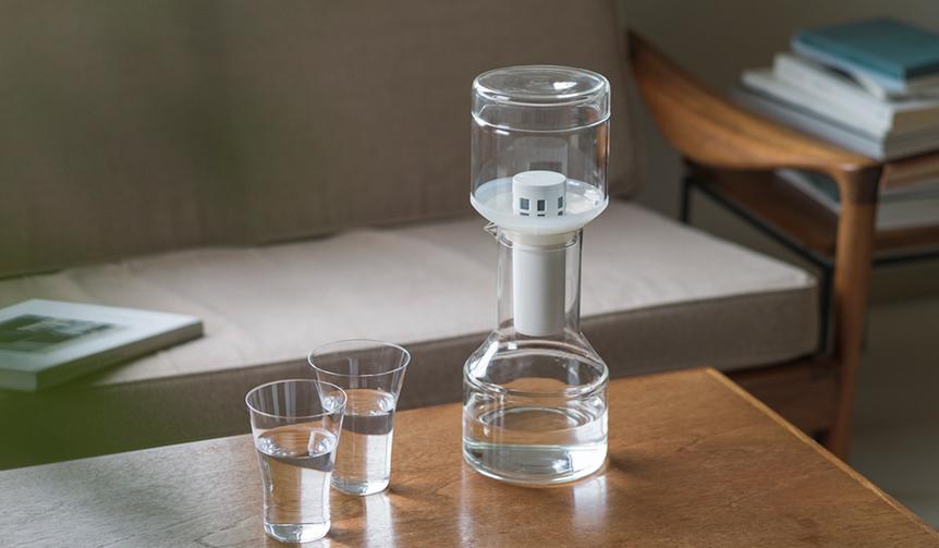Cleansui|日本のクラフトマンとのプロジェクト第二弾。ガラス製の浄水器が誕生