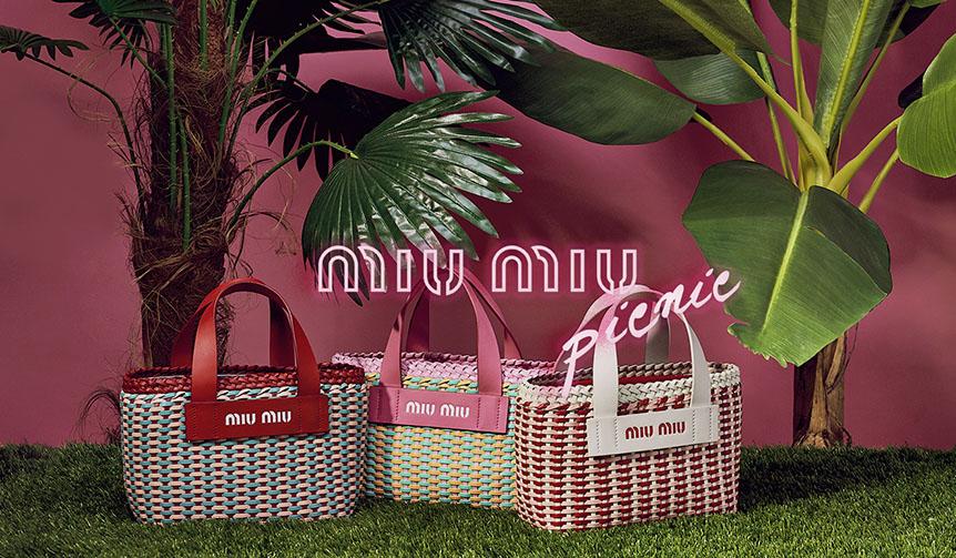 MIU MIU|「ミュウミュウ ピクニック」ポップアップストアが全国3ヵ所で順次オープン