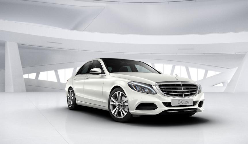 ベージュの本革シートがエレガントなCクラスの特別仕様車|Mercedes-Benz