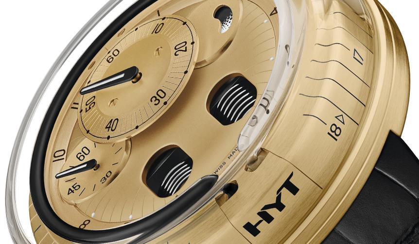 HYT|NEWモダンなカラーコントラスト。BLACK & GOLDに彩られた「H0」最新モデル