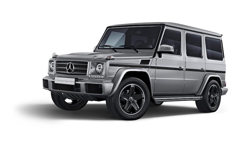 メルセデス・ベンツが現行Gクラス最後の特別仕様車を発売|Mercedes-Benz
