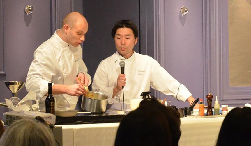 Joël Robuchon|総料理長によるフレンチ料理の実演と食事会を開催