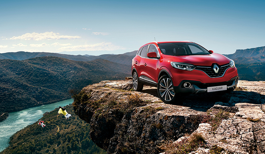 CセグメントSUV「カジャー」日本上陸|Renault