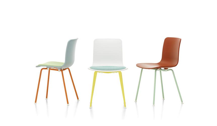 Vitra|ジャスパー・モリソンがデザインしたシェルチェア「ハル」に、色鮮やかな限定カラーリング