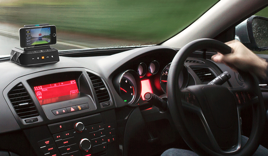 JBL|ドライブを快適に。オンダッシュBluetoothスピーカー「JBL SMARTBASE」