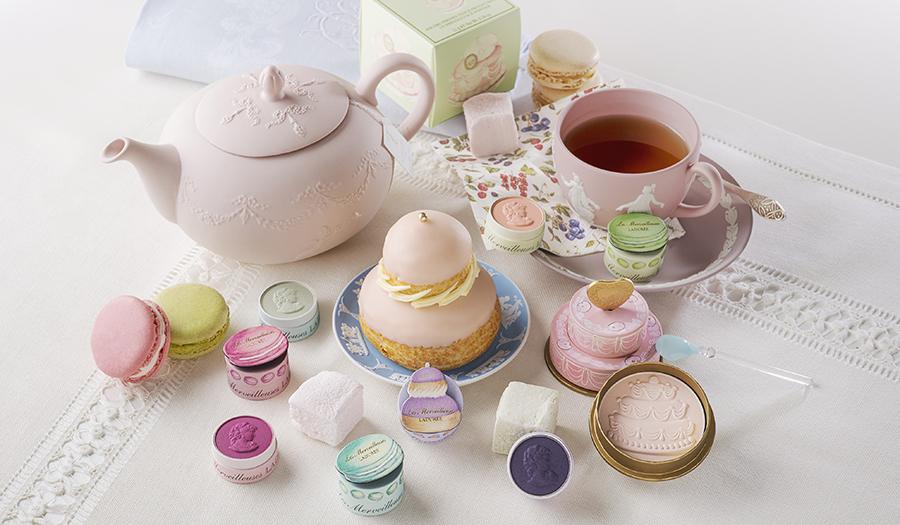 Les Merveilleuses LADURÉE|【4/27発売】色鮮やかなパティスリーのようなサマーコレクション