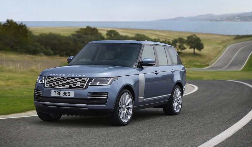 新デザインを採用したレンジローバー2018年モデルを受注開始|Range Rover