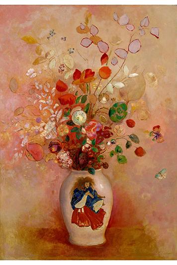 《日本風の花瓶 》 1908年 油彩/カンヴァス ポーラ美術館蔵