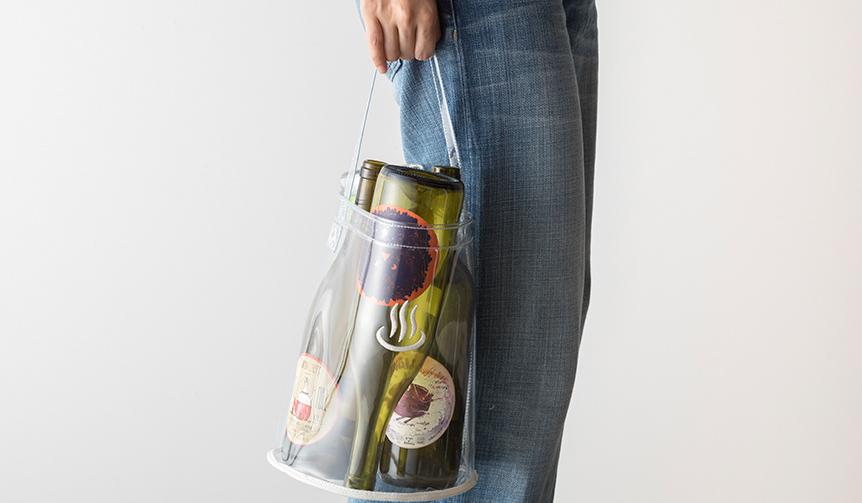新吉原|「温泉のマーク」の刺繍がアクセントに。ポリ塩化ビニル製バッグをリリース