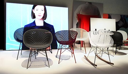 Kartell|吉岡徳仁氏が手掛けた「MATRIX chair」