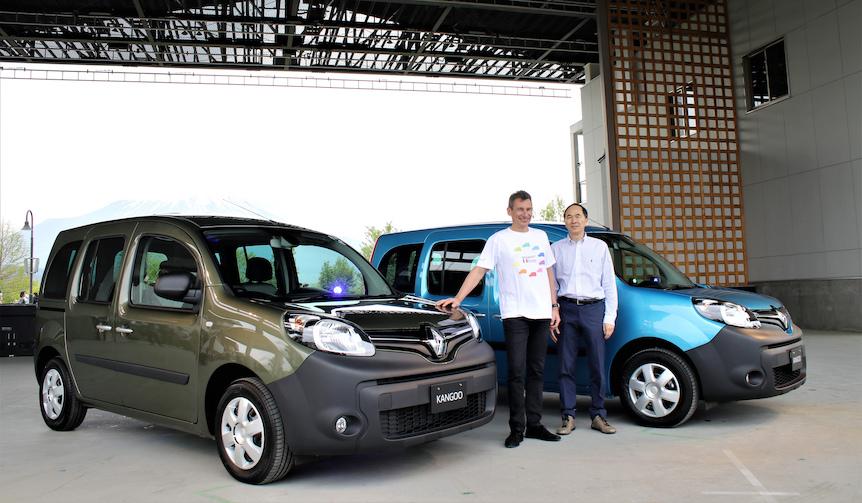 ルノー、カングーに新色のクルール発売|Renault