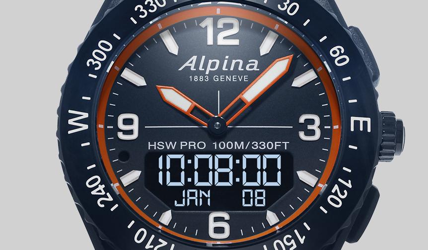 ALPINA|多彩なセンサーを搭載したアウトドアスマートウオッチ「アルパイナーX」