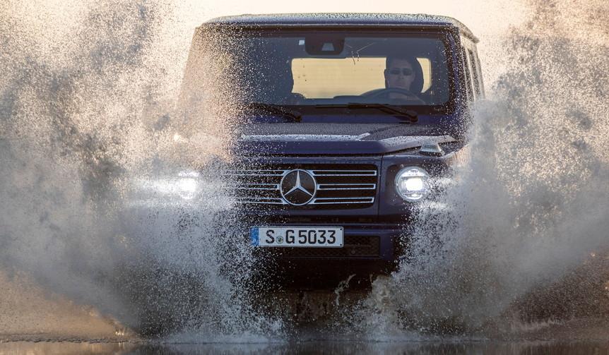 新型メルセデス・ベンツGクラスに試乗 Mercedes-Benz