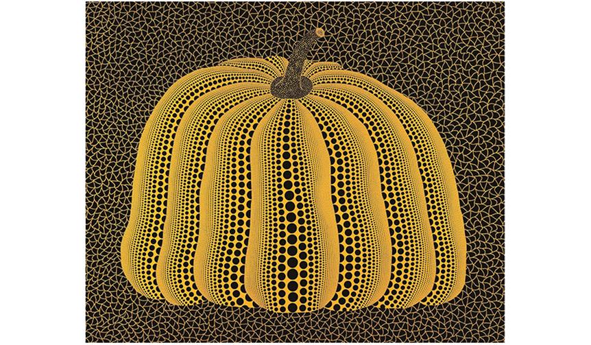 ART|作品123点が集う『草間彌生 永遠の南瓜展』、京都で開催