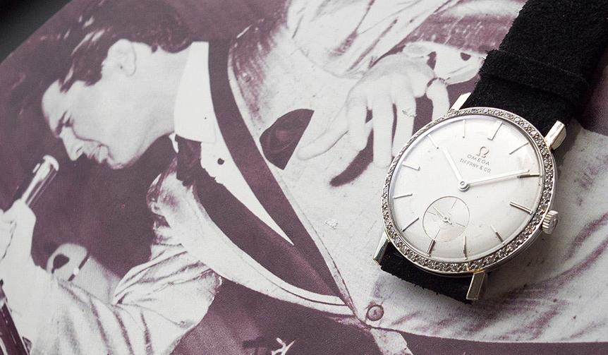 OMEGA|エルヴィスが着用したオメガの時計が約1億6530万円で落札!