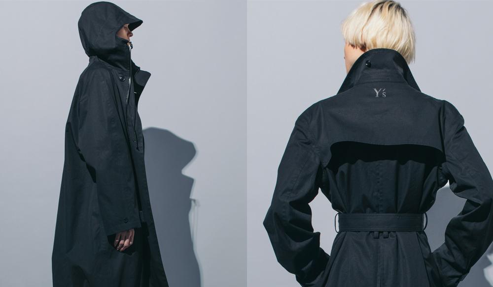 Yohji Yamamoto Y's|ウォータープルーフコートをY's表参道店で先行展開