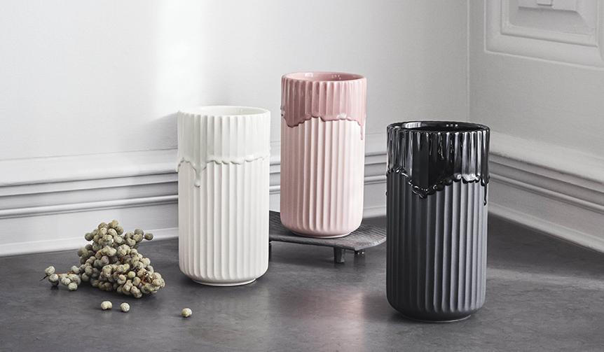 Lyngby Porcelæn|ブランドのアイコン「リュンビューベース」に新商品が登場